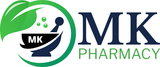 MK Pharmacy logo