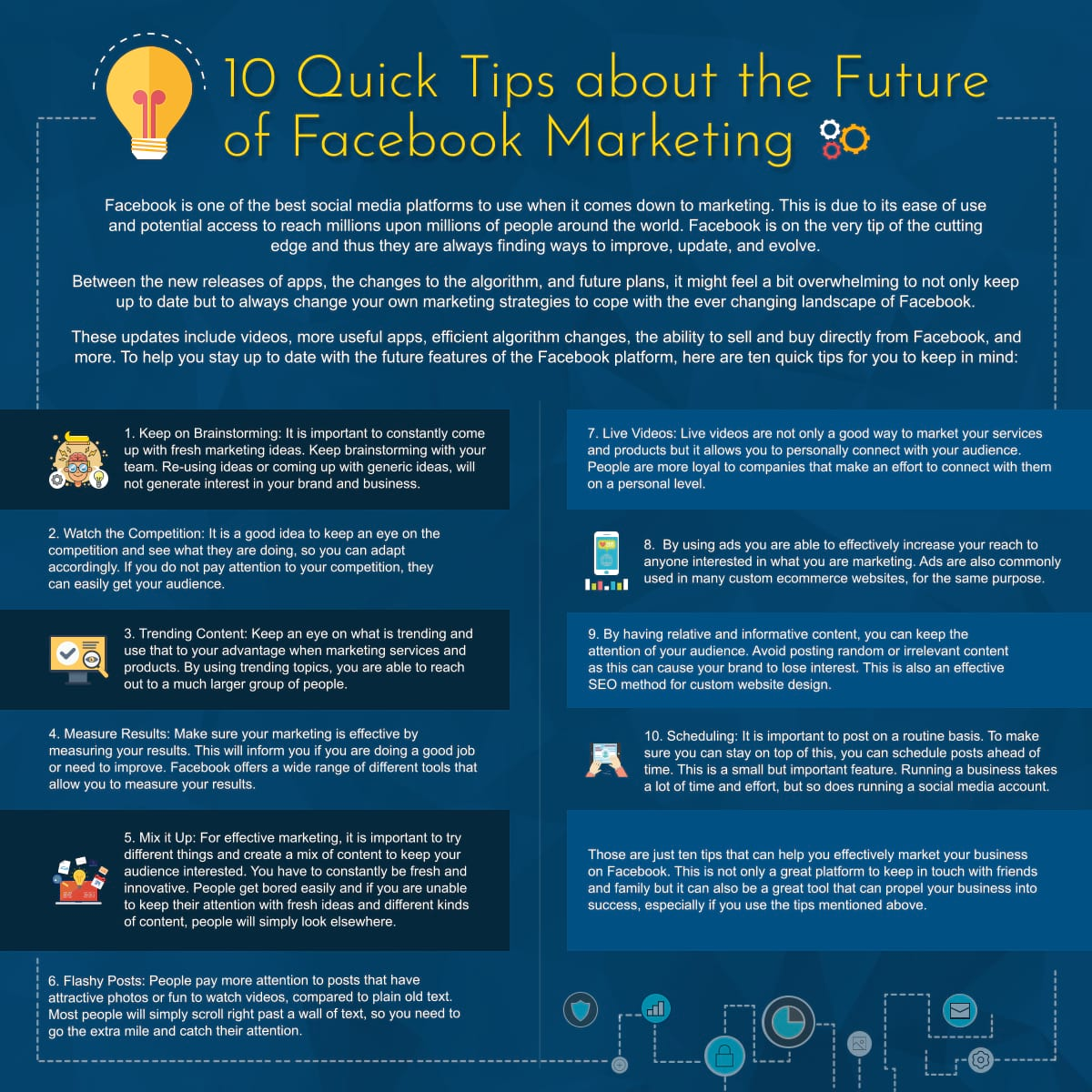 10 Quick Tips about the Future of Facebook Marketing