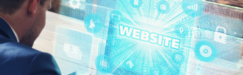 website-on-laptop