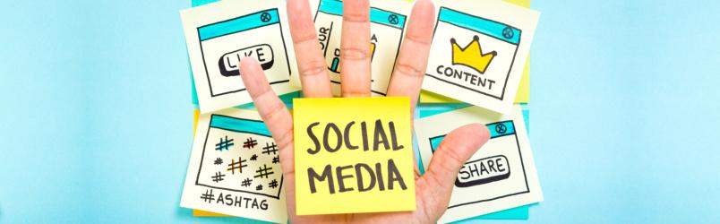 social-media-on-post-it