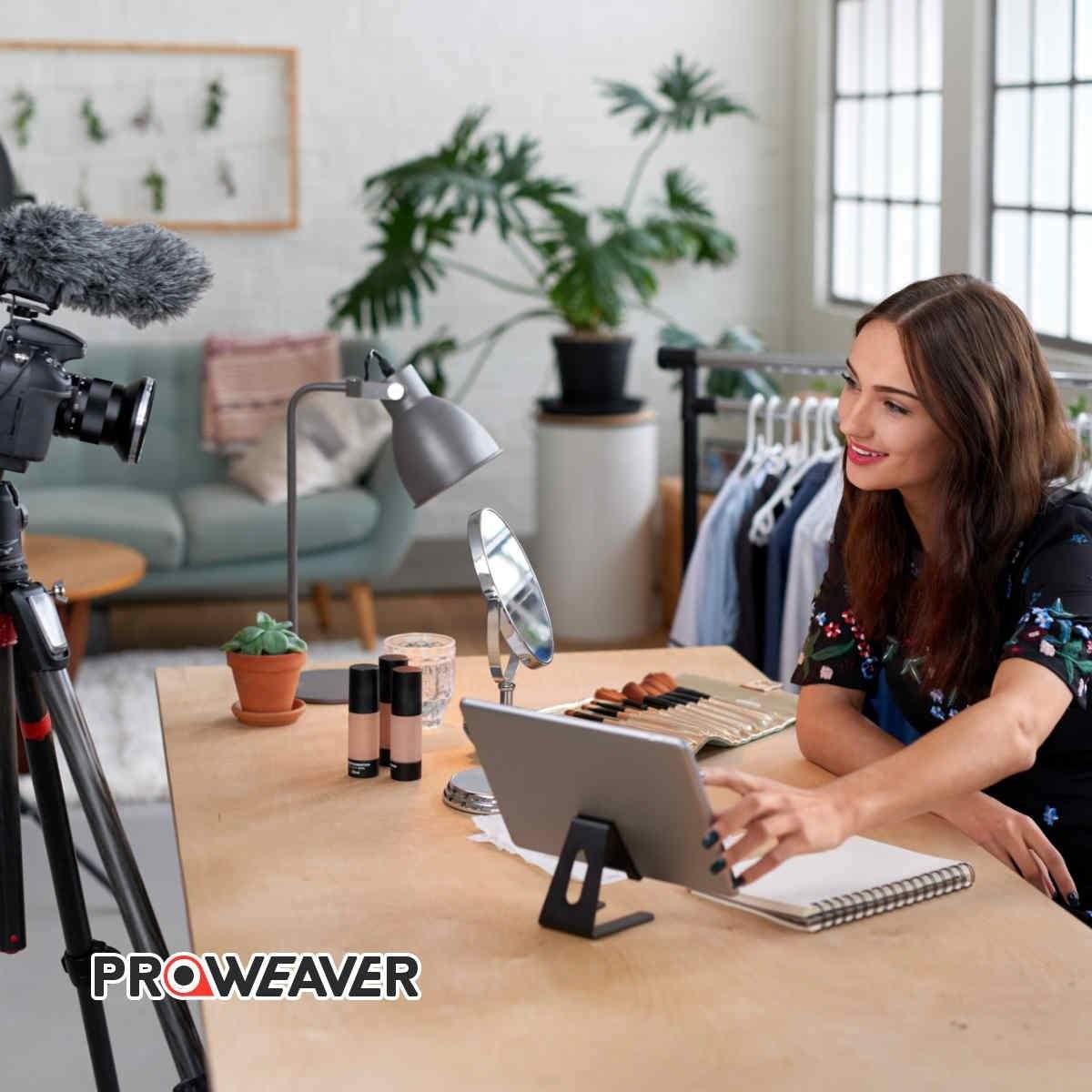 influencer-filming-for-endorsement