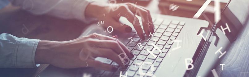 hand-typing-on-loptap-keyword