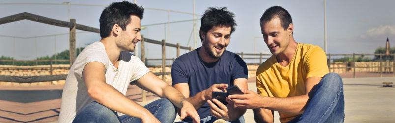 male-friends-watching-tiktok-videos